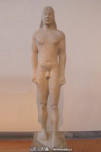 アポロン・プトオス聖域のクーロス像 - 日刊ギリシャ檸檬の森 古代都市を行くタイムトラベラー