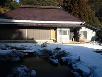 雪景色 - woodworks 季の木  日々を愉しむ無垢の家具と小物