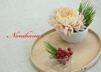 備忘のために・・・増田由希子先生のお正月のお花レッスン♪ - きれいの瞬間~写真で伝えるstory~