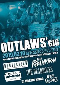 Outlaw's gig - 辰流のひとりごと