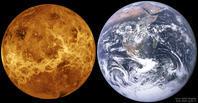金星探査機マゼランが捉えた金星の表面と地球の比較 - 秘密の世界        [The Secret World]