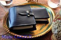 革の宝石ルガトー・システム手帳とロディアメモ帳カバー・時を刻む革小物 - 時を刻む革小物 Many CHOICE~ 使い手と共に生きるタンニン鞣しの革