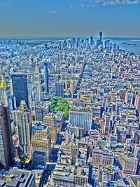 ニューヨーク (11)   エンパイアステートビルから - 多分駄文のオジサン旅日記 2.0