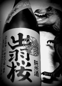 「出羽桜」純米生原酒しぼりたて-REX - 花鳥風月あめあられ