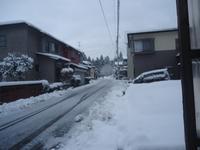 除雪 - 定年後の生活