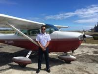 フィリピン人も体験操縦! - ENJOY FLYING ~ セブの空
