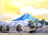 蓼科山と松並木 - ryuuの手習い