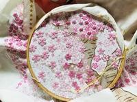 まだまだつづく桜の刺しゅう - y-hygge