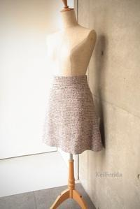 Spring tweed skirt - KeiFerida