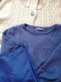 セーターを染めてみた! - ニットの着樂