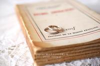 ウェディングジュエリー / マリッジリング【結婚指輪】/ 山梨県 F 様 & 静岡県 A 様 - psyuxe*旅とアトリエのあいだ
