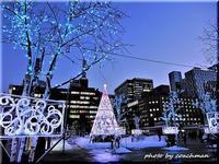 札幌駅前のイルミネーション - 北海道photo一撮り旅