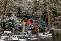 雪の京都淡雪が彩る岩戸落葉神社 - 花景色-K.W.C. PhotoBlog
