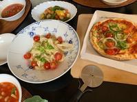 パッチワークの会薪ストーブでピザと焼き芋 - ゆうゆう素敵な暮らしの手帖