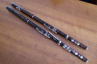 フラウト・トラヴェルソ3Claire Godefroy Aîné 8-keyed Cocuswood Flute - 都の写真帳