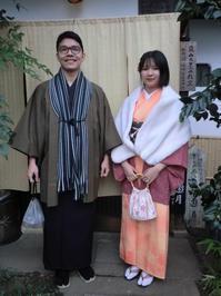 寒いですが、楽しくお着物で。 - 京都嵐山 着物レンタル&着付け「遊月」