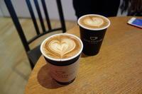 DOWNSTAIRS COFFEEでラテとバッタリ - *のんびりLife*