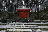 京の雪景色・開門前の大原散策其の三 - デジタルな鍛冶屋の写真歩記