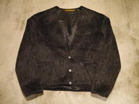 1950's MOHAIR COLLARLESS JACKET!! - BAYSON BLOG