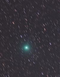 2月12日の岩本彗星(C/2018 Y1) - 安倍奥の星空