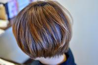 「黒染めみたいな黒髪が嫌な方の地毛風透明カラー」 - 観音寺市 美容室 accha
