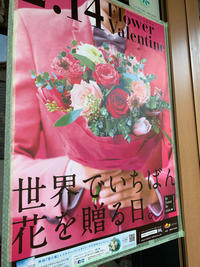 本日です!【フラワーバレンタイン】愛する人への花贈り - ルーシュの花仕事