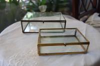 ガラス宝石箱7,8 - スペイン・バルセロナ・アンティーク gyu's shop