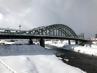 冬の旭橋(旭川) - 『文化』を勝手に語る
