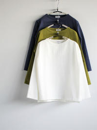 BETTERHEAVY WEIGHT BOAT NECK T-SHIRT (LADIES ONLY) - 『Bumpkins putting on airs』
