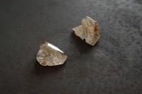 クオーツエレスチャル研磨 - 石と銀の装身具