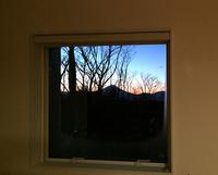 LDの窓から朝焼け - kukka  kukka
