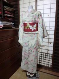 春が待ち遠しい・・・そんなお着物のコーディネート。 - 京都嵐山 着物レンタル&着付け「遊月」