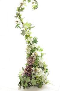 大作「躍動」 - お花に囲まれて