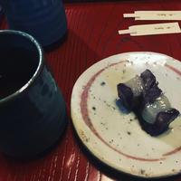 夏の終わりの和菓子 - 黒豆さんからお手紙ついた