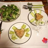 おうちでValentine's dinner♪ - ぶーちゃん日記(仮)