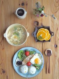 おにぎり朝ごはん - 陶器通販・益子焼 雑貨手作り陶器のサイトショップ 木のねのブログ