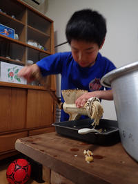 味噌作り - 清治の花便り