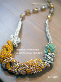 made by Kiyomi sama - JOSEBEADS jewelry kits