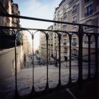 ピンホールカメラで撮ったパリ モンマルトルの写真ピンホール写真 Pinhole Photography - ピンホール写真 と 旅の記憶 Pinhole Photography