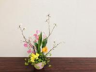 春色アレンジ♪ - Flower Days ~yucco*のフラワーレッスン&プリザーブドフラワー~