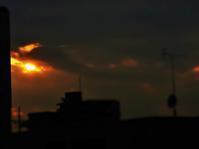 今日の夕陽 - のーんびり hachisu 日記