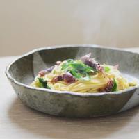 お昼ご飯〜九条ネギとホタルイカのパスタ〜 - 料理教室 あきさんち