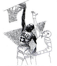 スポーツイラストレーション - 筆一本あれば人生は楽し! -イラストレーター原田伸治-