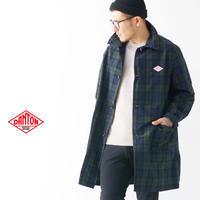 DANTON [ダントン] M's NYLON TAFFETA CHECK SINGLE COAT [JD-8946NPL] ナイロンタフタ シングル コート・MEN'S - refalt blog