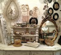 パリの蚤の市から池袋西武へ*天使のアシュトレイ&宝石箱や小鳥のペンケース - BLEU CURACAO FRANCE