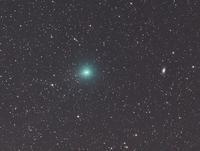 2月14日の岩本彗星(C/2018  Y1)-NGC2903との接近- - 安倍奥の星空