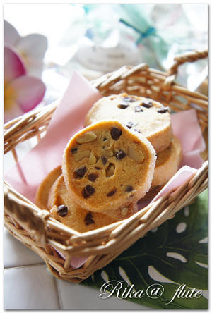 チョコとくるみのスパイシークッキー - Rika@_flute Cooking♪