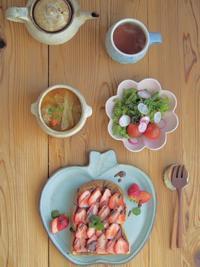 肉だんごスープの朝ごはん - 陶器通販・益子焼 雑貨手作り陶器のサイトショップ 木のねのブログ