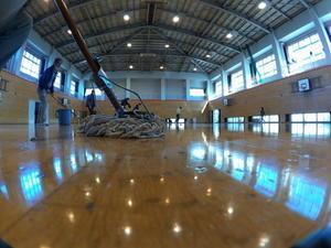 2月17日体育館メンテンス 人員募集  - 超小型飛行体研究所ブログ