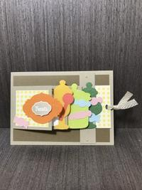 カード作りワークショップ〜その12 - 胡桃っ子の家